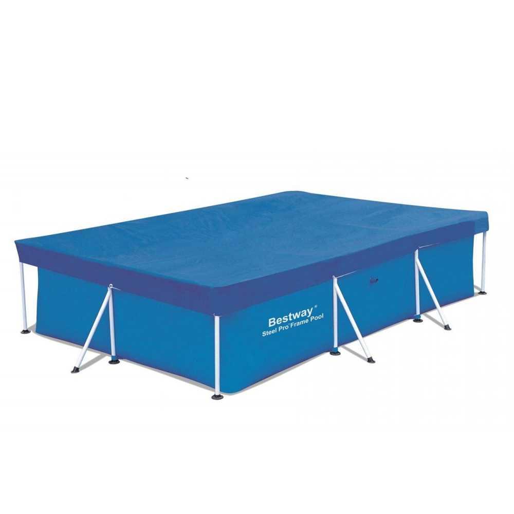Top di copertura compatibile per piscine 400x211 cm
