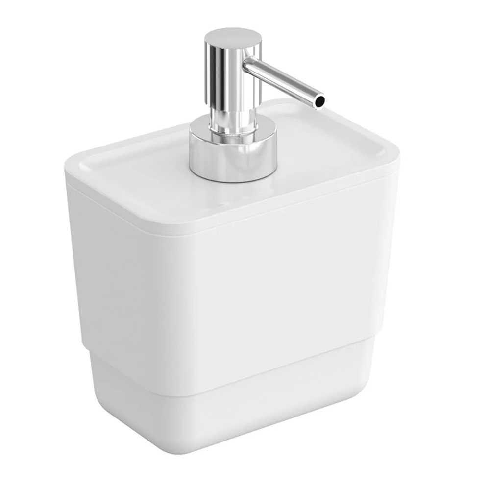 Dispenser sapone in plastica della collezione B-Smart by Cosmic - Bianco