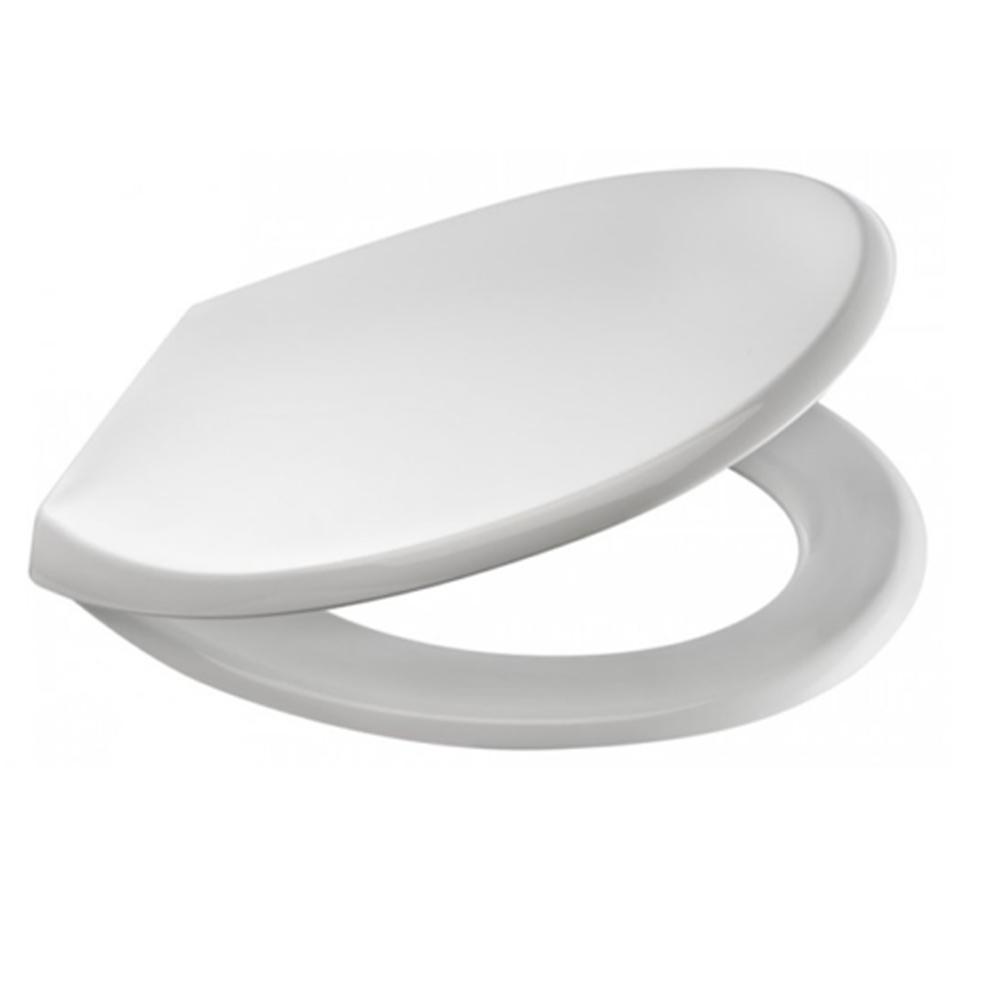 Copriwater unviersale Gedy Smeraldo laccato bianco