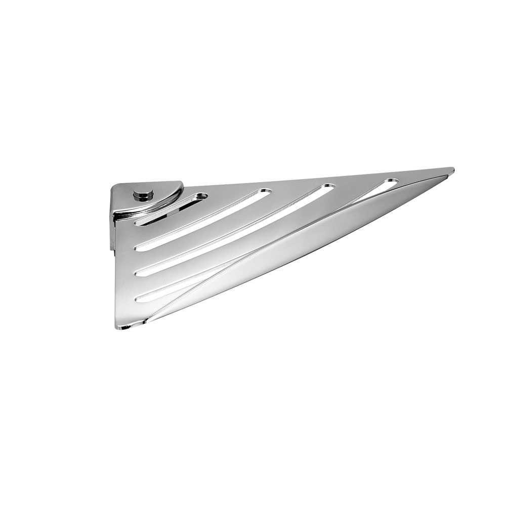 Griglia porta oggetti angolare by Gedy G-Essential in acciaio inox - Cromato