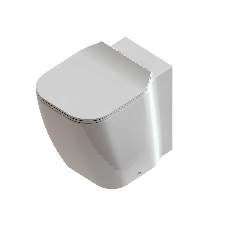 Water senza brida filo parete Domus Falerii F50 Special con sedile soft close