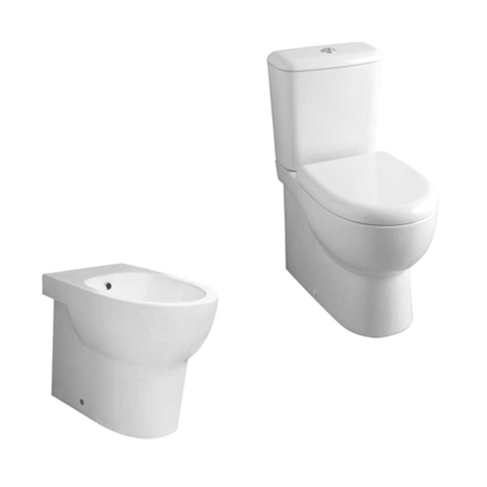 Sanitari Ceramica Azzurra Absolute wc monoblocco + bidet + sedile soft close