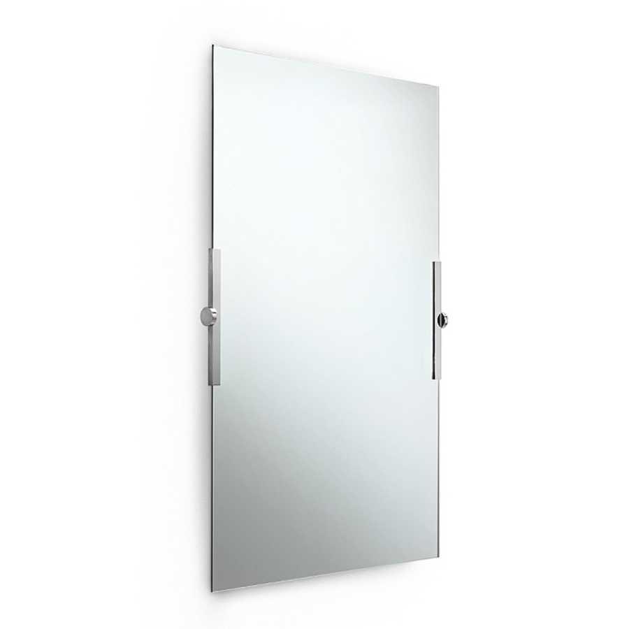 Specchio da parete rettangolare alto orientabile a filo lucido da parete  Lineabeta Speci cm 64x80