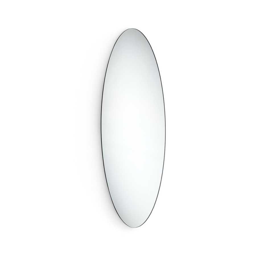 Specchio ovale essential da parete ultrapiatto Lineabeta Speci cm 44x100