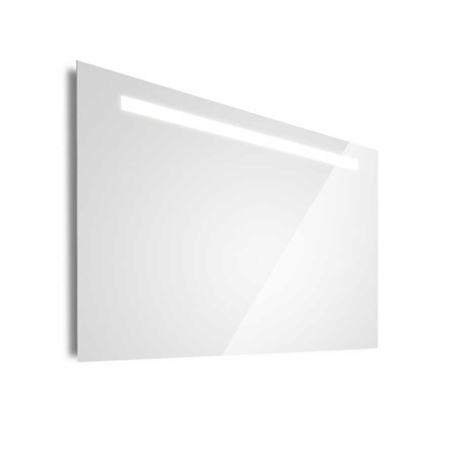 Specchio da parete rettangolare ultrapiatto Lineabeta Speci diverse misure disponibili. Reversibile, con luce led integrata