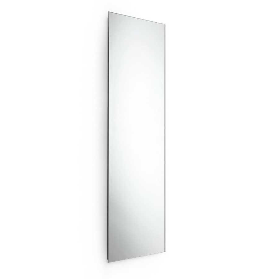 Specchio rettangolare alto molato da parete ultrapiatto Lineabeta Speci cm 50x160h