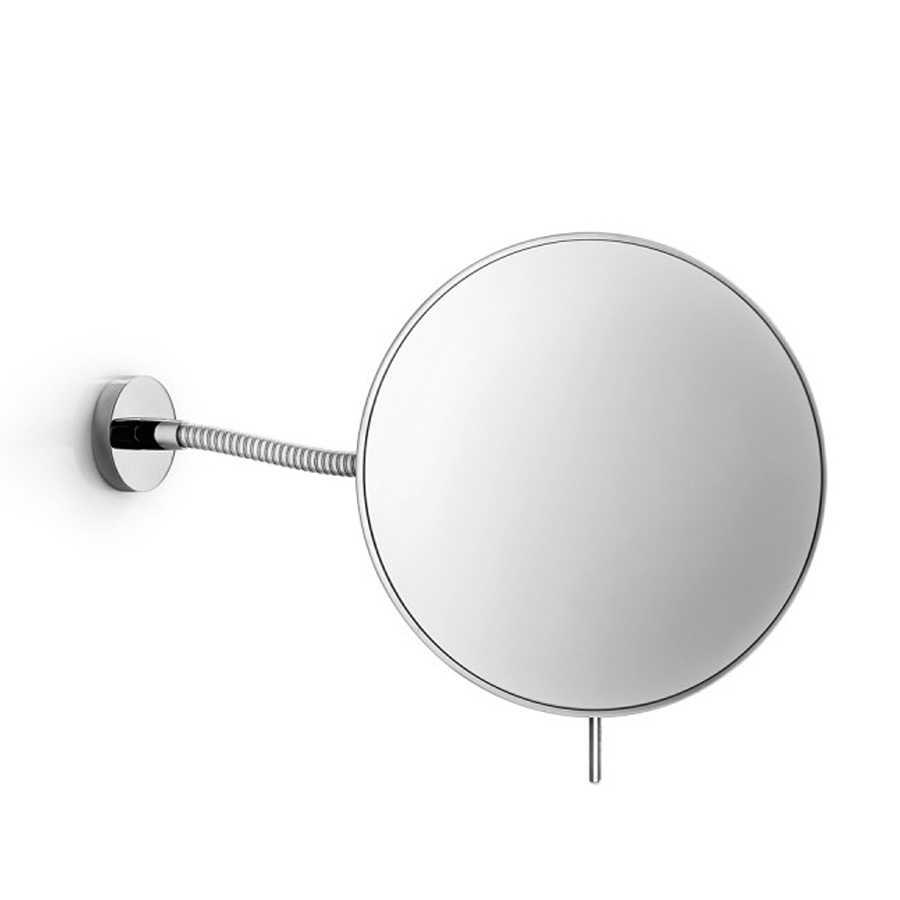 Specchio ingranditore da parete Lineabeta Mevedo con braccio snodabile disponibile 3x - 5x - 8x