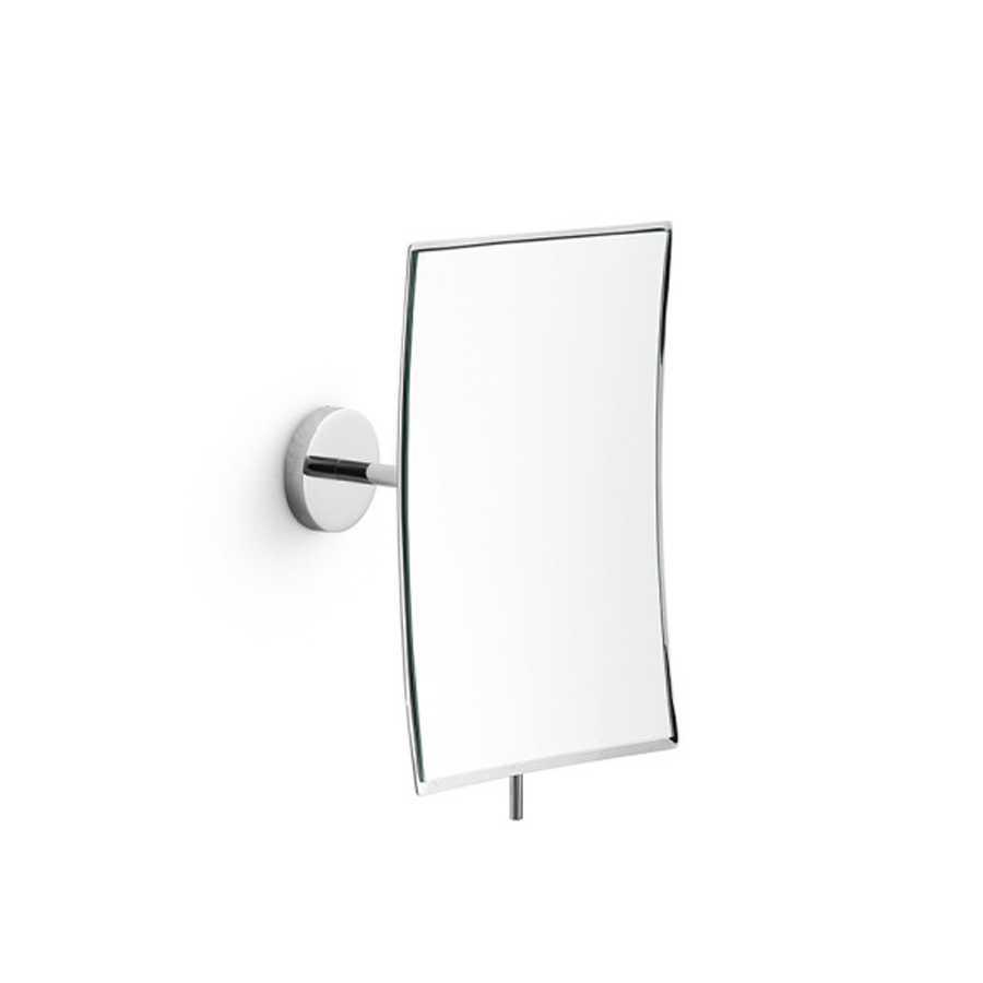 Specchio ingranditore rettangolare 3x da parete Lineabeta Mevedo