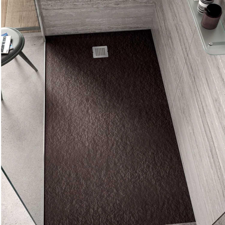 Piatto doccia rettangolare Effetto Pietra 90x170 Ideal Standard Ultra Flat S- Piletta NON inclusa