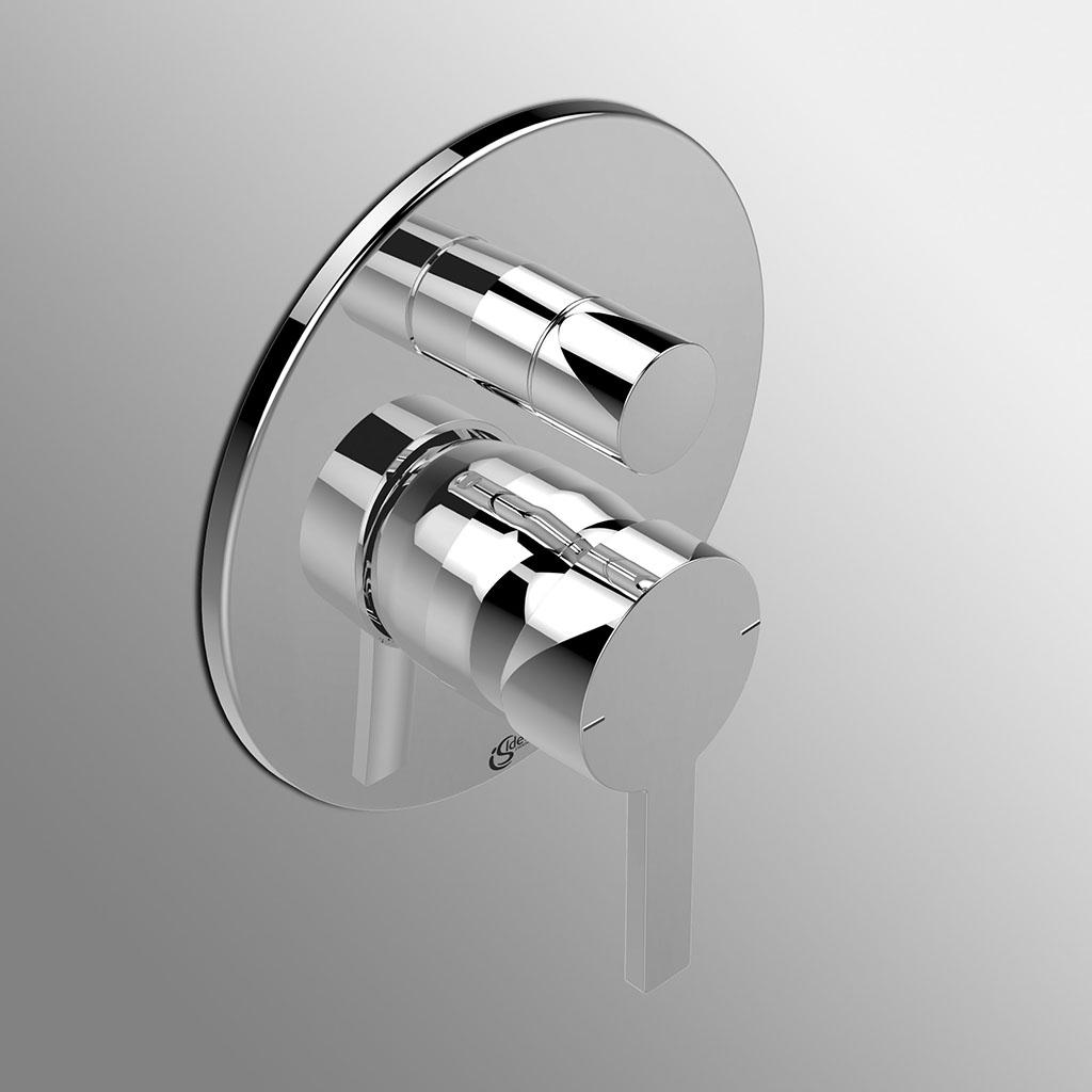 Miscelatore doccia incasso con deviatore Ideal Standard Neon solo parte esterna