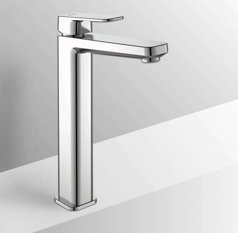 Miscelatore lavabo a canna alta Ideal Standard Tonic 2 per installazione su piano