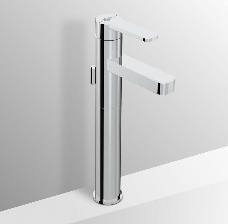 Miscelatore lavabo alto Ideal Standard Giò per appoggio su piano