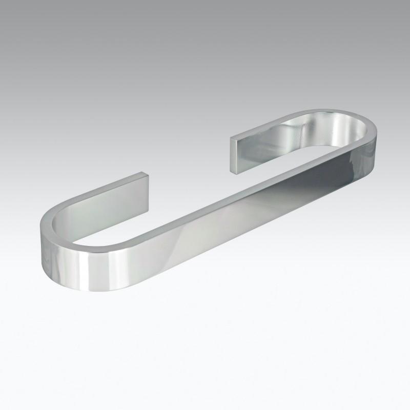 Portasalviette da cm 60 in alluminio modello Materia Koh-i-Noor