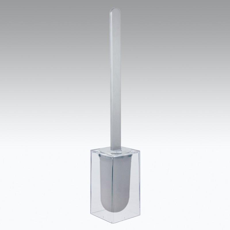Portascopino da parete in alluminio e policarbonato modello Materia Koh-i-Noor