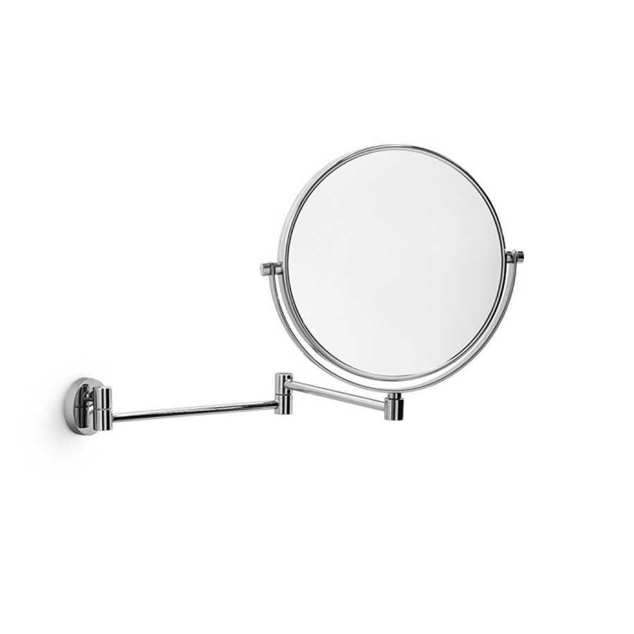Specchio da parete doppio un lato ingrandente 3x, un lato riflettente Lineabeta Mevedo