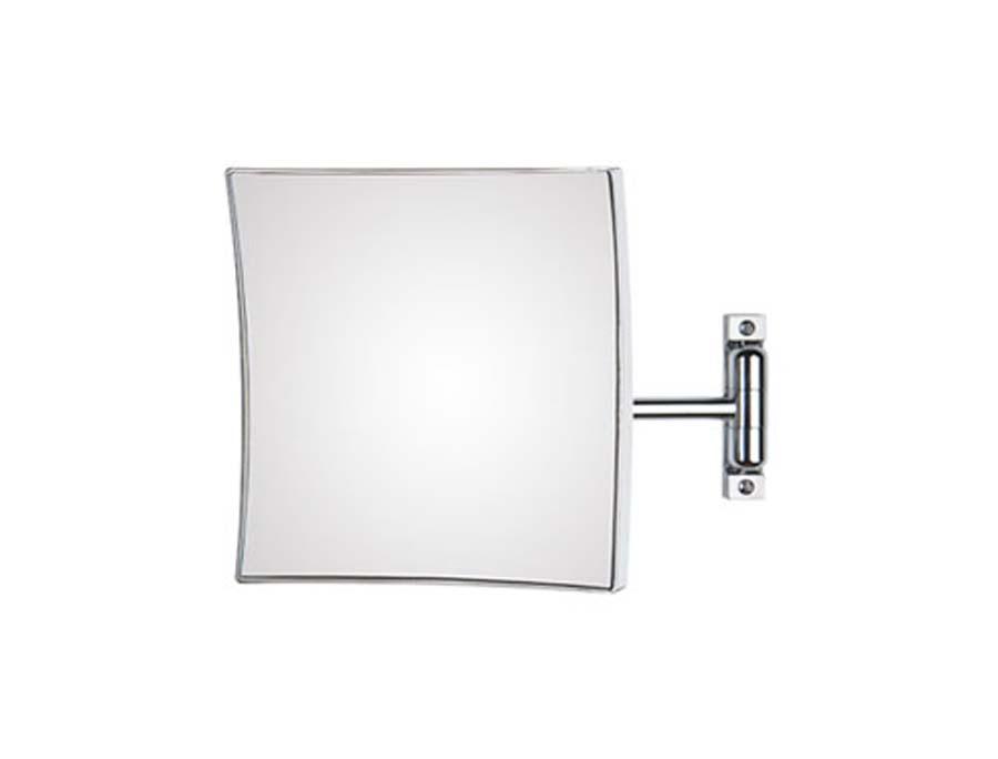 Specchio ingranditore orientabile Koh-I-Noor modello Quadrolo con braccio singolo