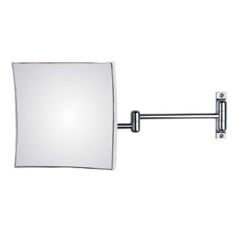 Specchio ingranditore orientabile Koh-I-Noor Quadrolo con braccio doppio