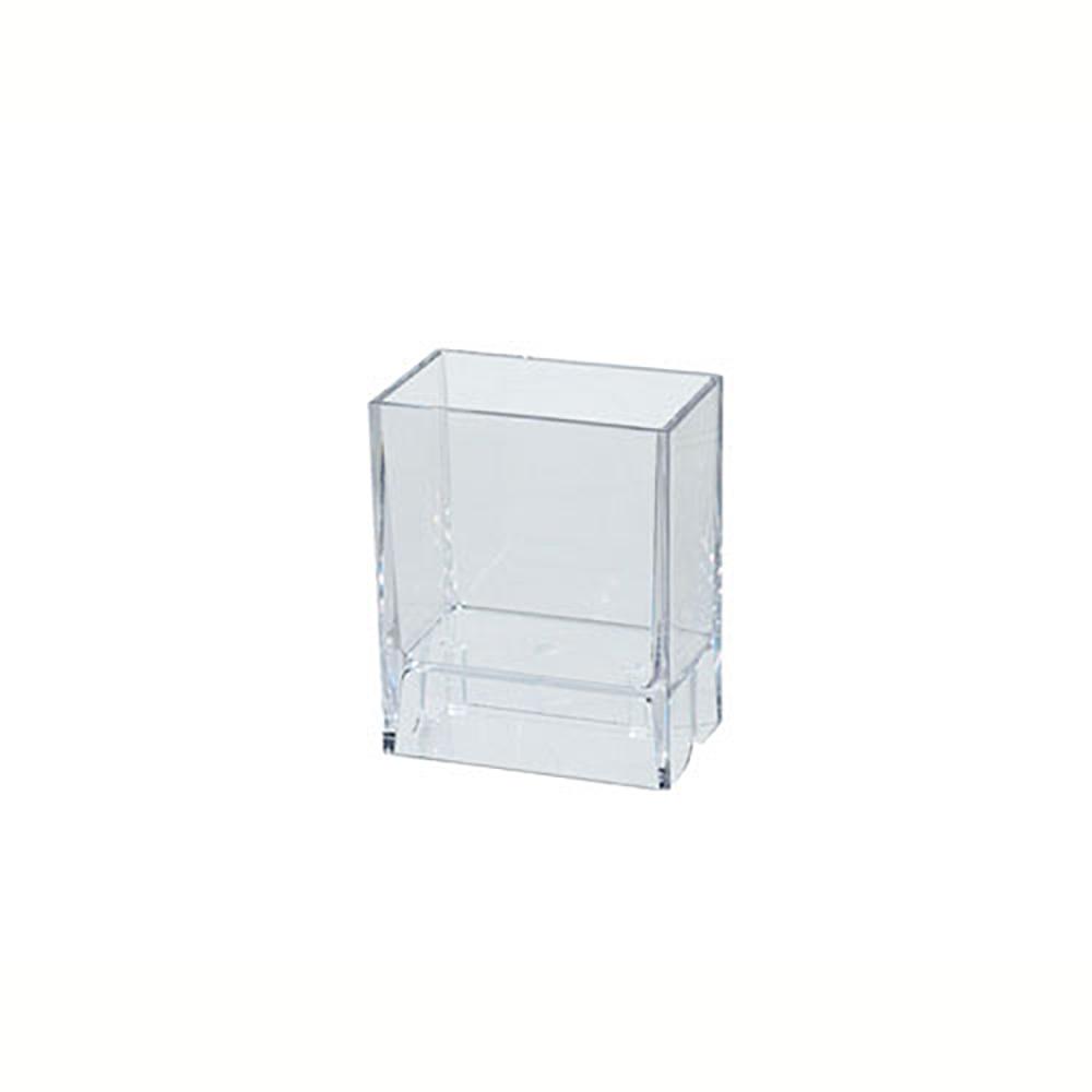 Bicchiere Portaspazzolini da parete in policarbonato Koh-i-Noor LEM-LAVI