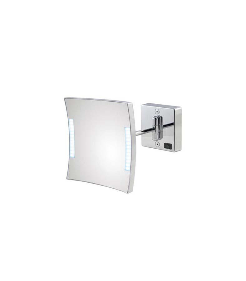 Specchio ingranditore Koh-I-Noor Quadrolo Led con braccio singolo