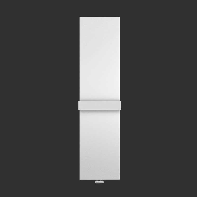 Radiatore d'arredo Piastra Lazzarini Ischia 1800X459 interasse 50 mm bianco