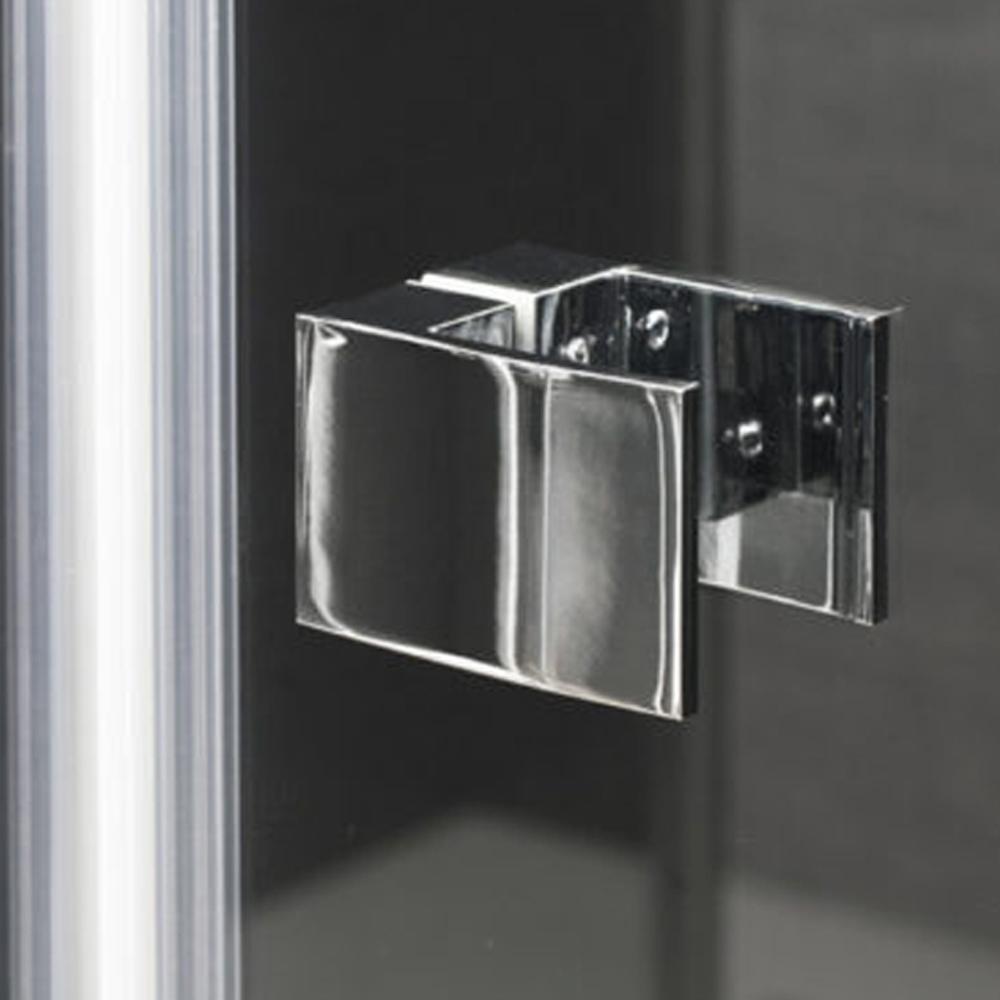 Porta doccia battente cm 90 modello Ermes in cristallo temperato mm 6