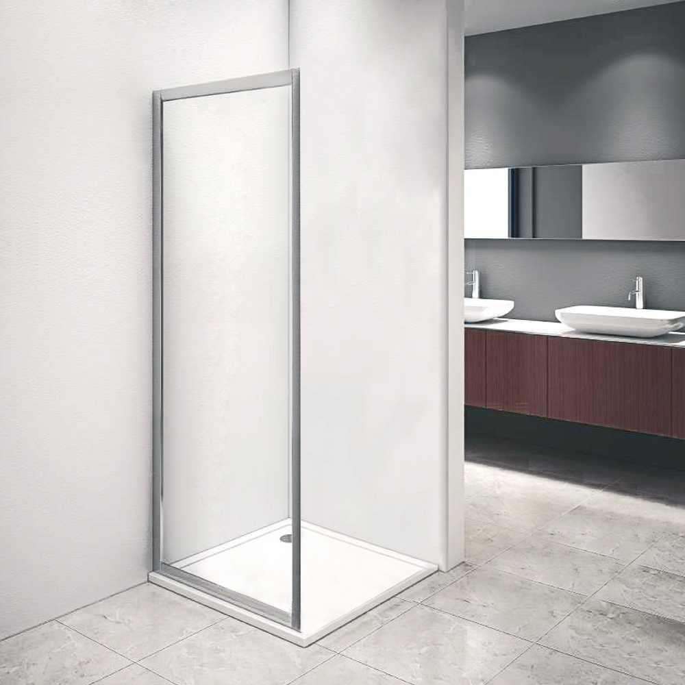 Pannello fisso doccia per abbinamento box doccia Iconic cm 70