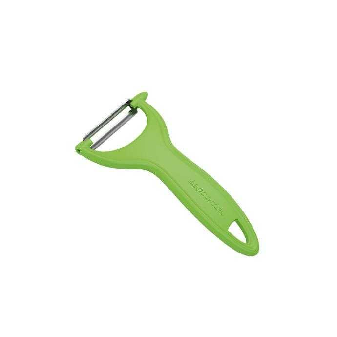 Sbucciatore a lama laterale Tescoma colore verde