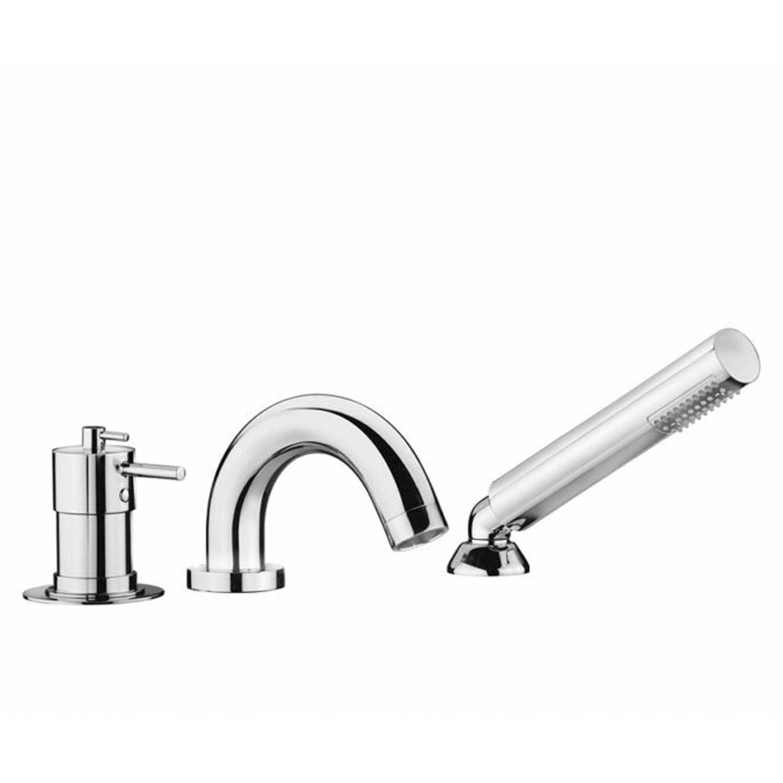 Miscelatore bordo vasca termostatico con kit doccia Artis collezione Stilo