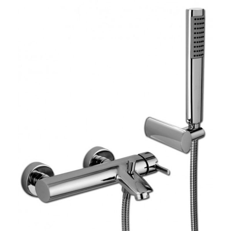 Miscelatore vasca doccia duplex Paffoni Berry art. BR023CR