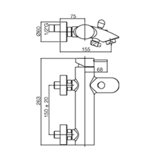 Paffoni Berry miscelatore lavabo c/scarico, bidet c/scarico e vasca