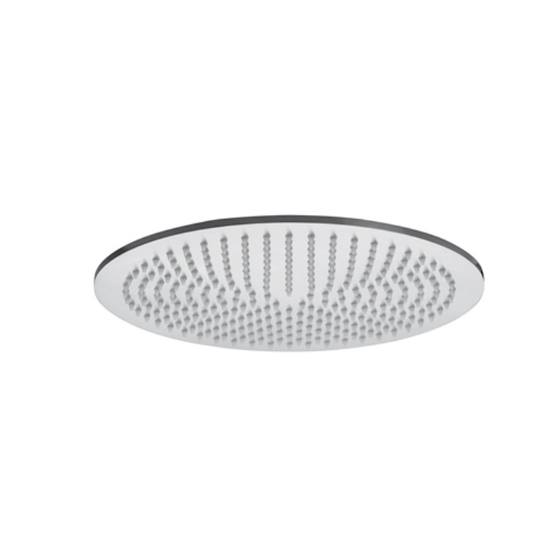 Soffione doccia tondo Paffoni Steel diametro 23 cm