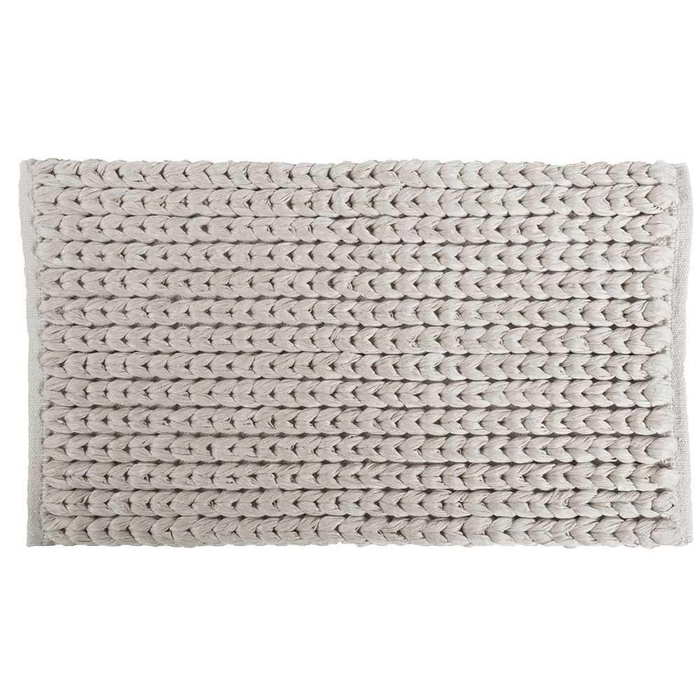 Tappeto modello 'Tissu' con intreccio cm 60x110 by Cipi - Ecru