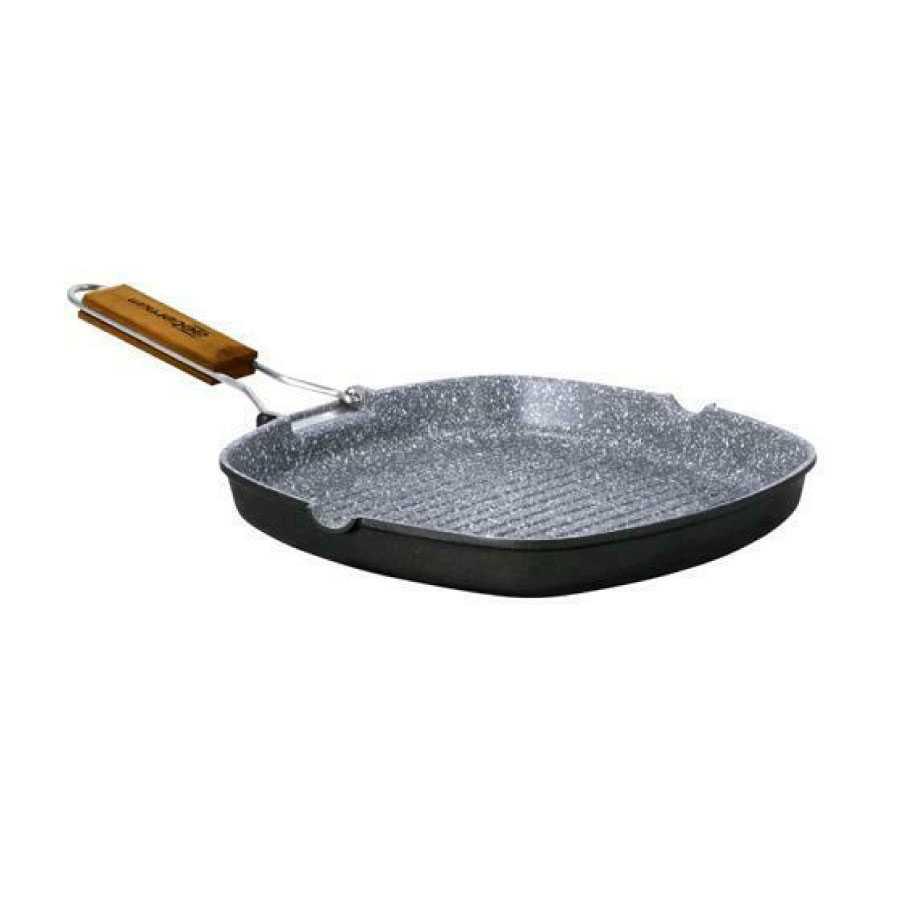 Padella grill in alluminio aeternum cm 24x34