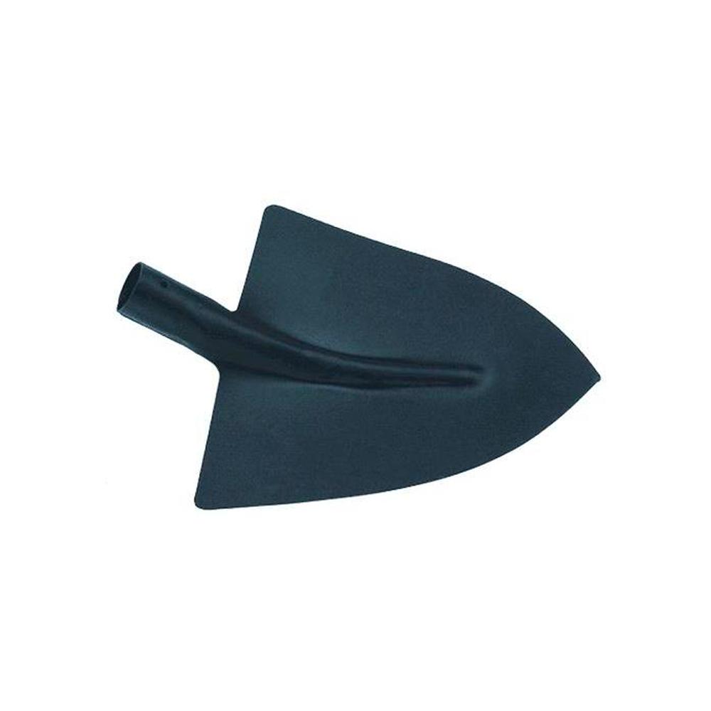 Badile a punta in acciaio stampato senza spalla, senza rinforzo