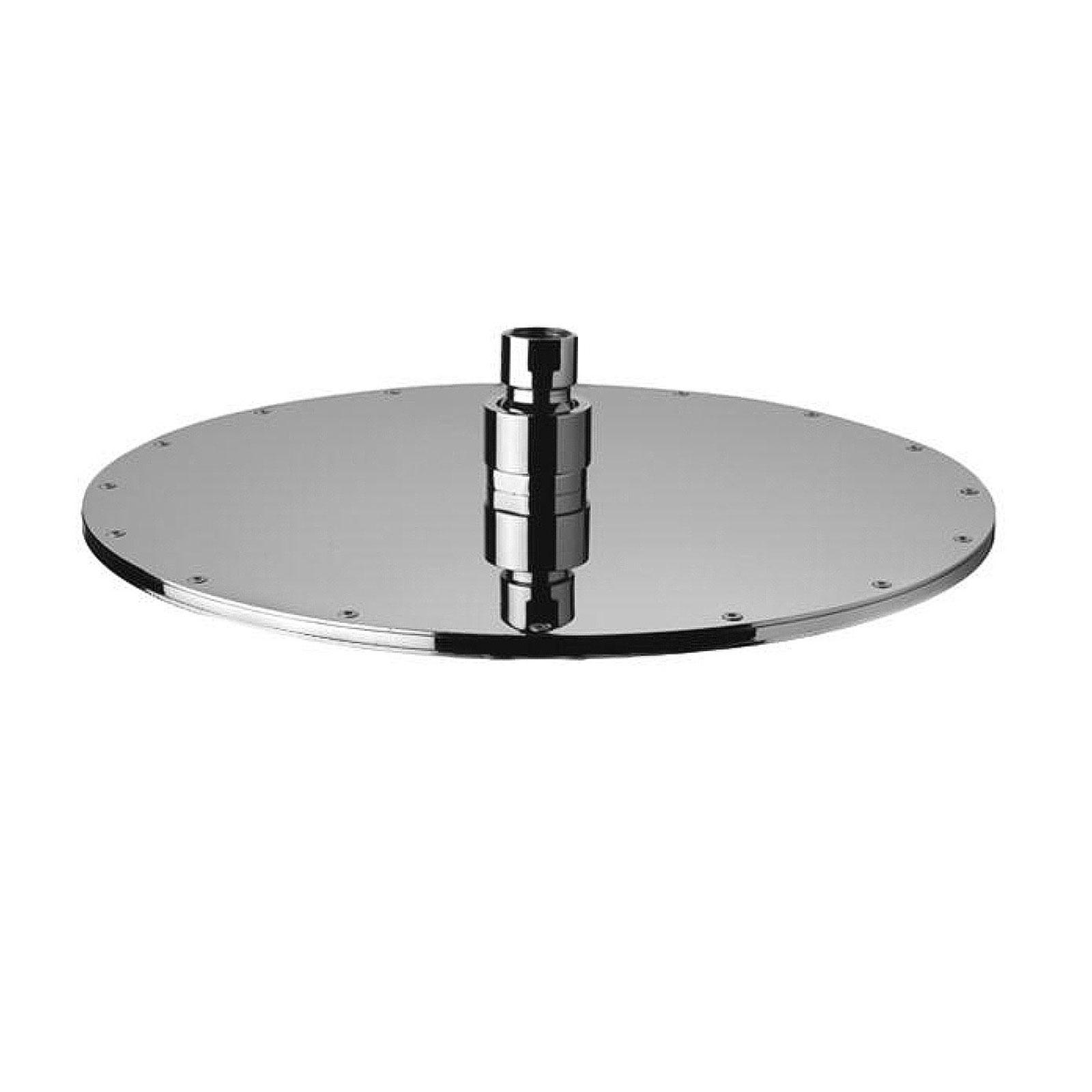 Soffione doccia tondo Paffoni Master diametro 225 mm in metallo cromato