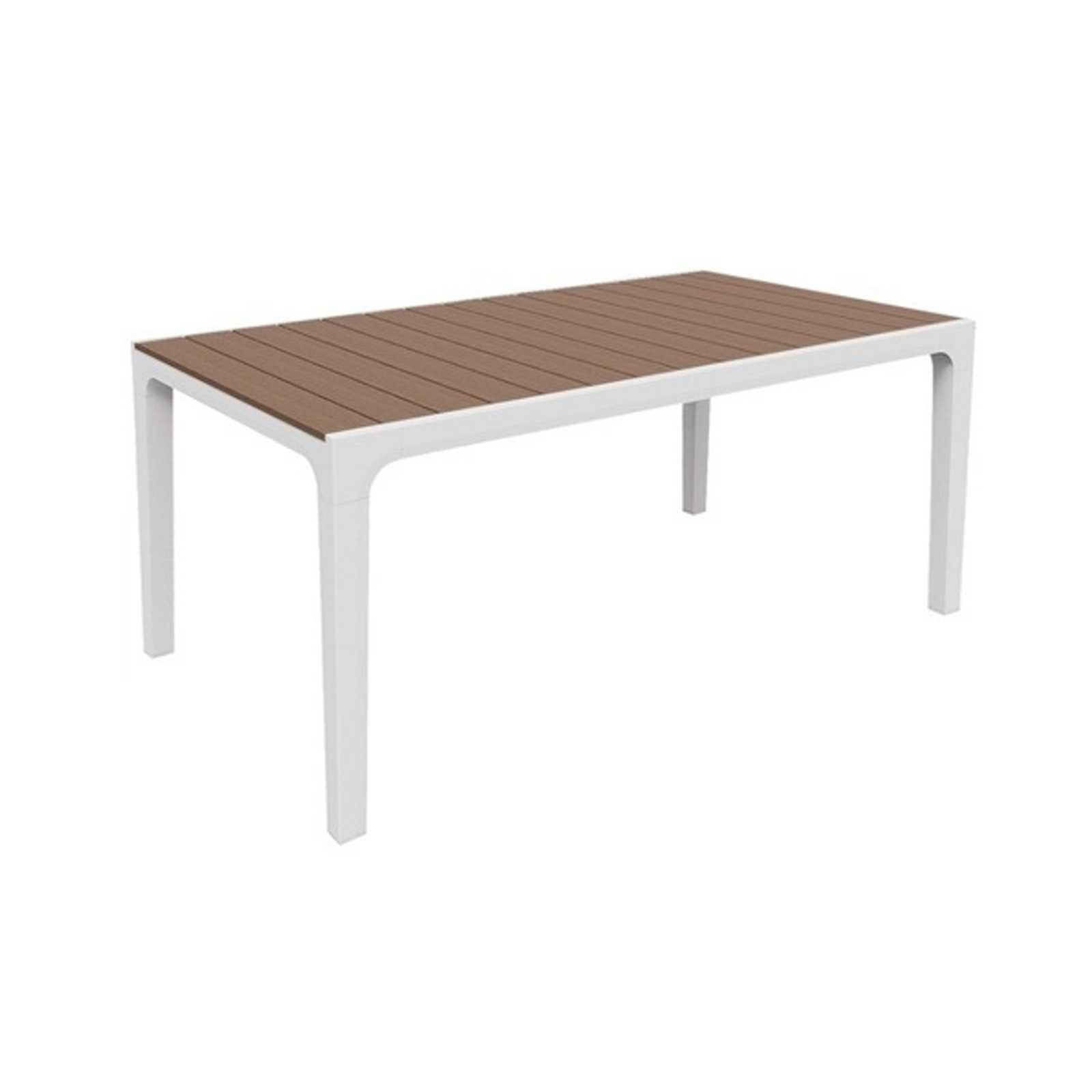Tavolo in resina antiurto tortora modello Harmony - CON PICCOLE IMPERFEZIONI