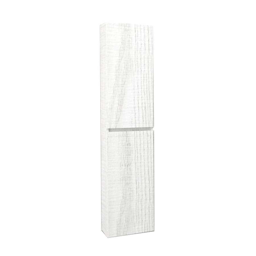 Colonna sospesa modello Harmony da cm 34x25x162 cm finitura bianco matrix