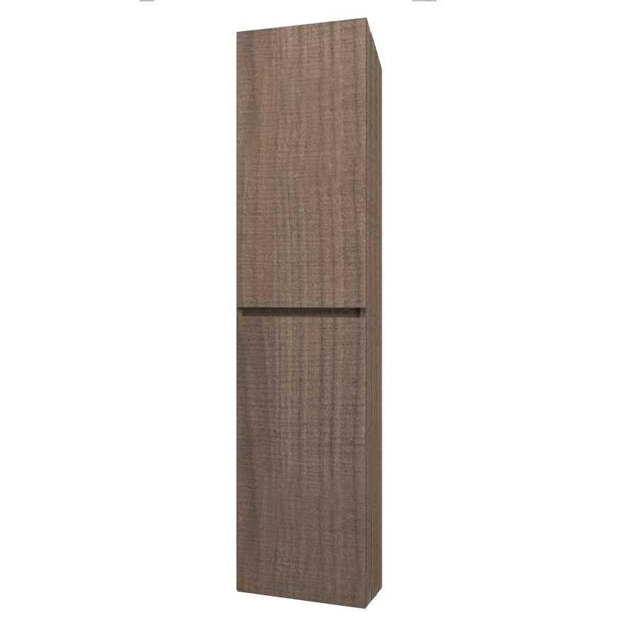 Colonna sospesa modello Harmony da cm 34x25x162 cm finitura noce tranchè
