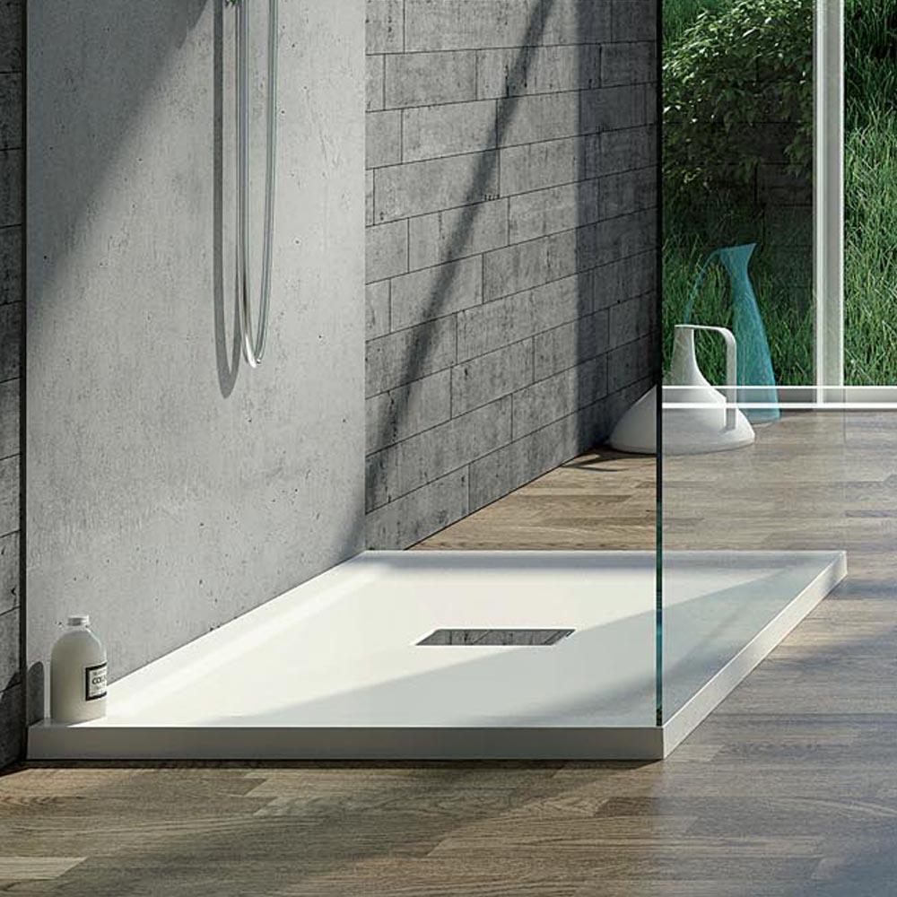 Piatto Doccia in acrilico 70X150 cm H4 con bordi squadrati Relax Design Puro