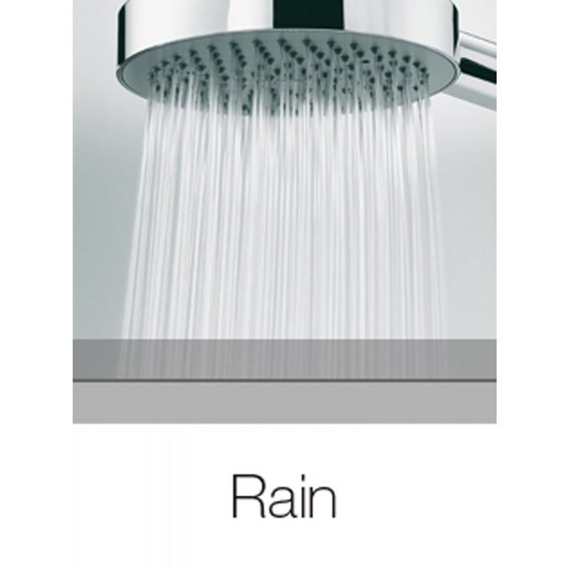 Bossini set doccia saliscendi regolabile con doccetta monogetto Dinamica D59001