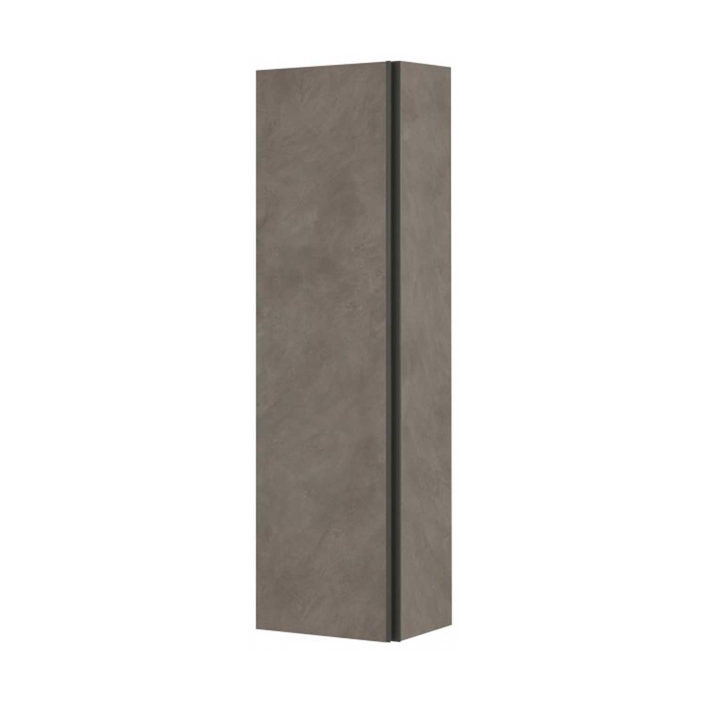 Colonna bagno sospesa Dixie con chiusura slow-motion colore Beton Cenere