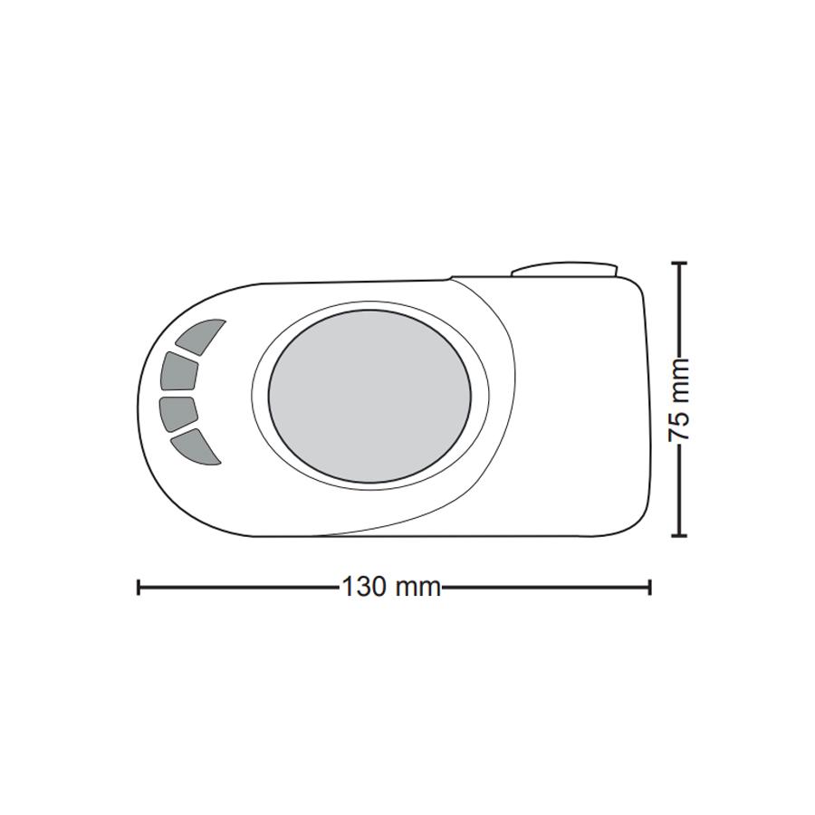 Termoarredo elettrico Lazzarini Cortina EVO cromato 1375x480 con termostato