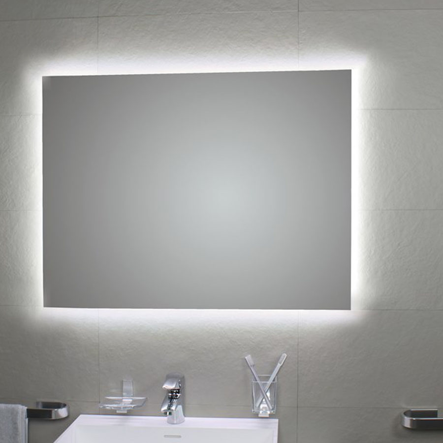 Accessori Bagno Koh I Noor Prezzi.Specchio Da Bagno 100x80 Cm Koh I Noor Modello Perimetrale Ambiente Led Con Retro Illuminazione