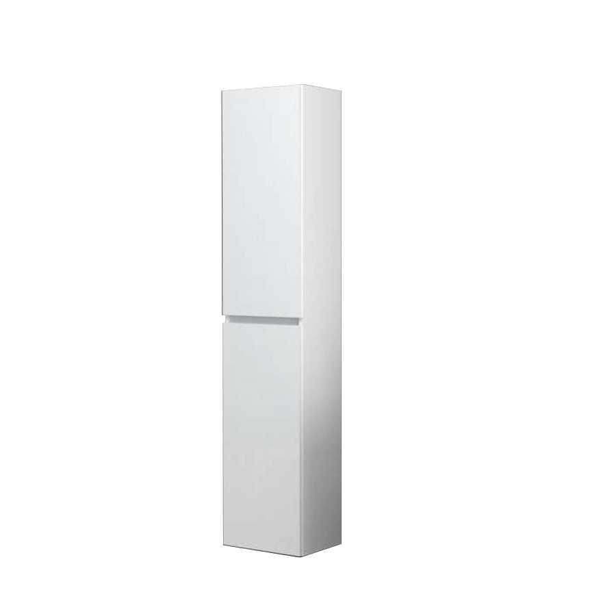 Colonna sospesa modello Harmony da cm 34x25x162 cm finitura bianco lucido
