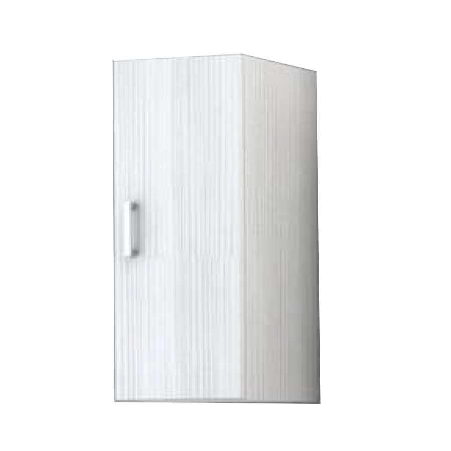 Pensile sospeso con anta modello Palma da cm 30x70x25 cm finitura bianco matrix