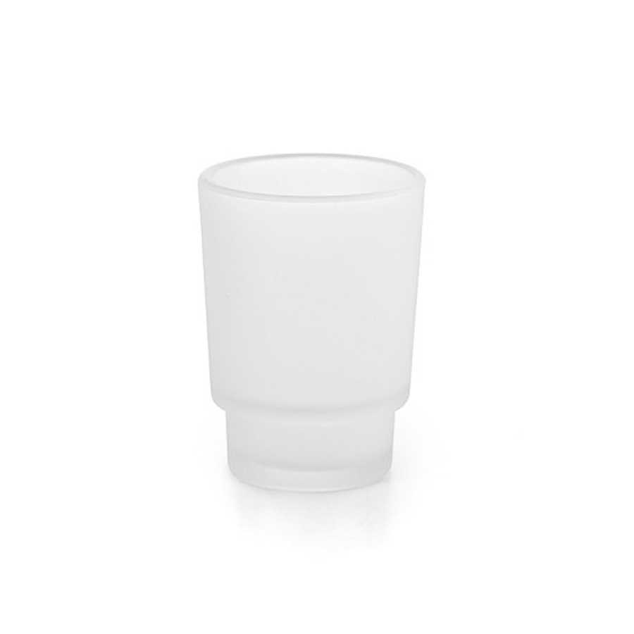 Bicchiere portaspazzolino Lineabeta Napie in 3 varianti di materiale