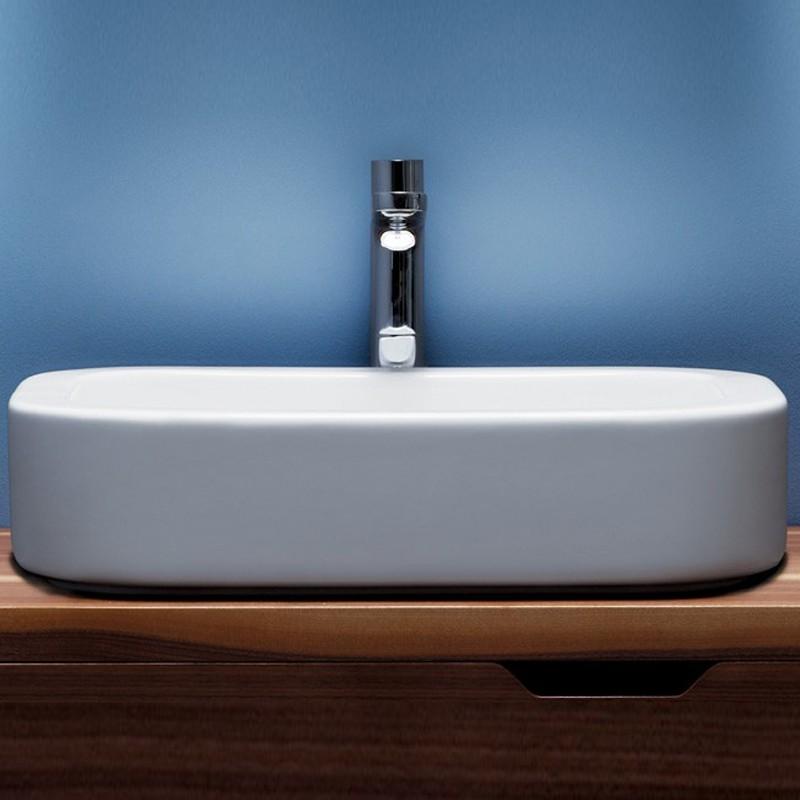 Lavabo da Appoggio modello Glaze 60  Ceramica Azzurra