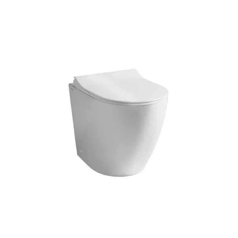 Wc filo parete althea cover con sedile slim soft close