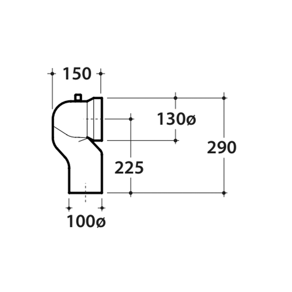 Curva Tecnica-Diam 100