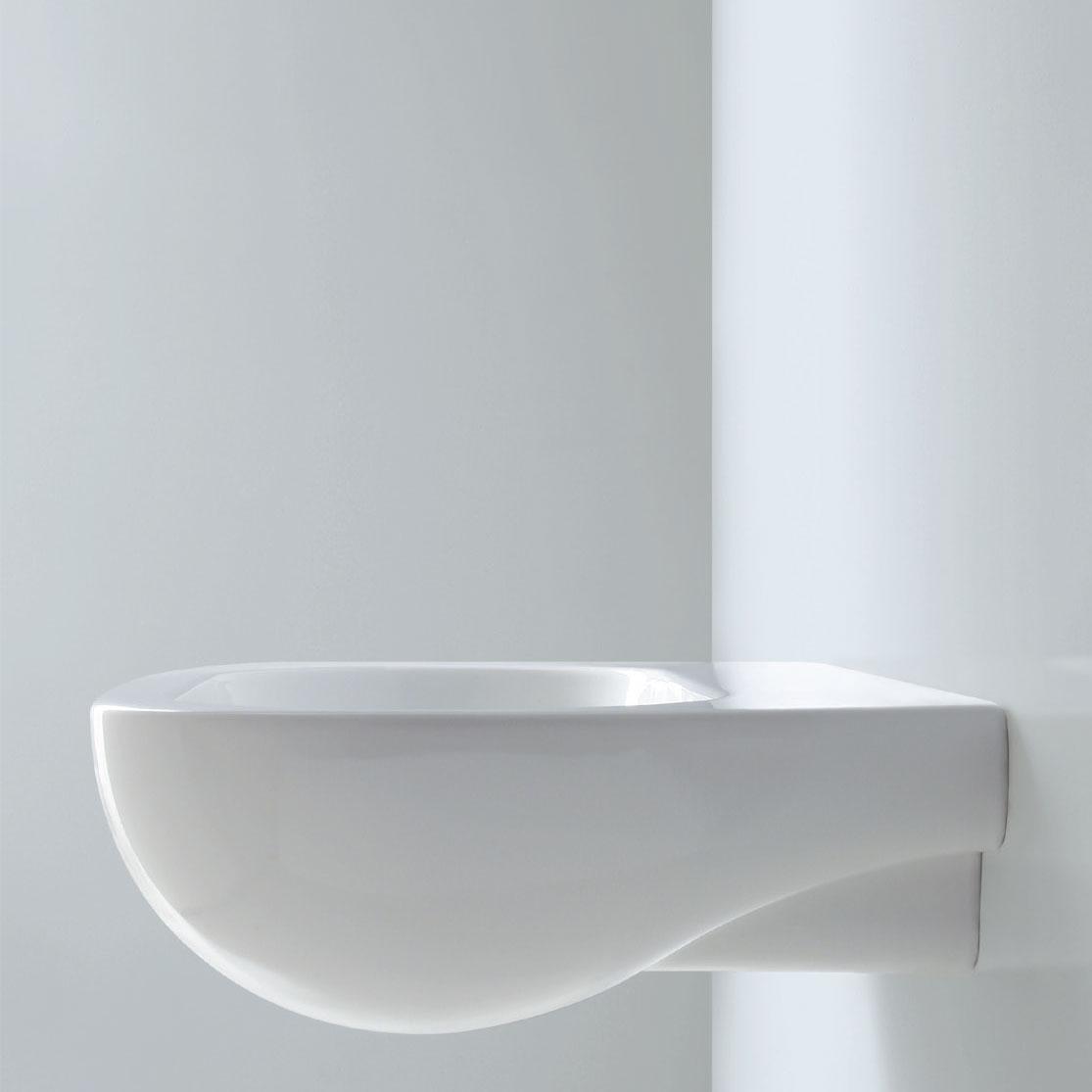 Lavabo Sospeso modello Nuvola 75 Ceramica Azzurra